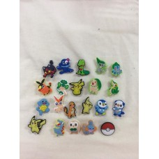 Pokemon PVC Badges
