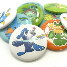 Pokemon  Pin Buttons Round Badges 30mm